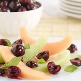 recipes-cherry-melon-salad