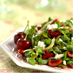 recipes-cherry-pancetta-salad
