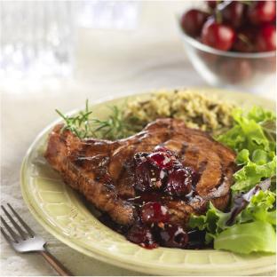 recipes-pork-chops-cherry-chutney